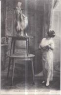 Dépt 71 - Misca, Chèvre Dressée, Présentée Par Melle CATALINI - (Roche, Édit. à DIGOIN) - Digoin