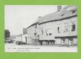 LIEGE. Vieillez Maisons,rue Du Ponçay. - Belgium