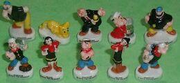 Série De Fèves Complète : Popeye - Cartoons