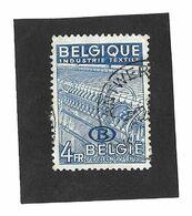 D46 4 Fr Blauw Type Uitvoer 1948 - Dienstpost