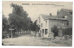 Tohogne - Route De Durbuy Et Maison Thiry - Circulé - 2 Scans - Durbuy