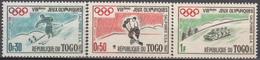 Du N° 300 Au N° 302 Du Togo - X X - ( E 1661 ) - Winter 1960: Squaw Valley