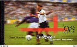Carnet Prestige Angleterre Euro 96 Football Soccer - Zonder Classificatie