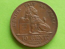 RARE, 10 Cts  BELGIQUE: 1847/37 ( 135.000 EXEMPLAIRES . - 1831-1865: Léopold I