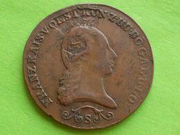 RARE!  AUTRICHE:  3  KREUTZER  FAUTEE.   ANNEE  1812 ( Fehlerhafte Munzen ) - Austria