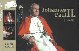 "AUSTRIA / ÖSTERREICH, 2020 Postcardbooklet ""Pope John Paul II"" - Austria"