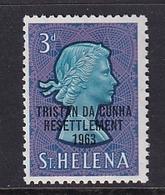 Tristan Da Cunha: 1963   Tristan Resettlement OVPT   SG58    3d     MH - Tristan Da Cunha
