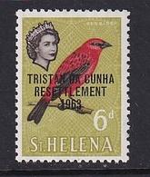 Tristan Da Cunha: 1963   Tristan Resettlement OVPT   SG60    6d     MH - Tristan Da Cunha
