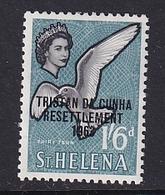Tristan Da Cunha: 1963   Tristan Resettlement OVPT   SG64    1/6d     MH - Tristan Da Cunha