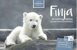 "AUSTRIA / ÖSTERREICH, 2020 Postcardbooklet ""Finja, Icebeargirl In Zoo Schönbrunn"" - Non Classés"