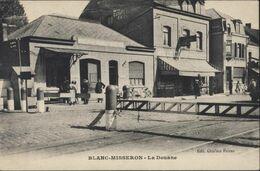 CPA Blanc Misseron La Douane Edit Ghislain Frères Bureau Des Douanes Françaises 59 Nord - Andere Gemeenten