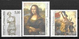 Année 1999 : Série Des 3 Timbres Y. & T. N° 3234 ** - 3235 ** -  3236 ** PHILEXFRANCE 99 - Francia