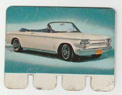 Sterovita Melkproducten 89. Chevrolet Corvair Monza  Ifamétal Paris - Andere Sammlungen