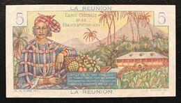 La Reunion  5 Francs 1967 Pick#41 Spl+ Ex+ Lotto 2256 - Réunion
