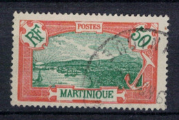 MARTINIQUE        N°  YVERT :   101   ( 4 )  OBLITERE       ( OB   5 / 02 ) - Usati