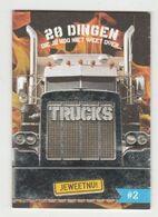 C1000 Je Weet Nu Boekje 2. Vrachtwagens - Trucks - Andere Sammlungen