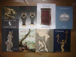 LOT De Catalogues De Vente Aux Encheres DESSINS TABLEAUX OBJETS D'ART MOBILIER 2 - Altri