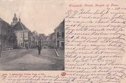 4822228Bergen Op Zoom, Wouwsche Straat. (poststempel 1901)(kleine Vouwen In De Hoeken) - Bergen Op Zoom