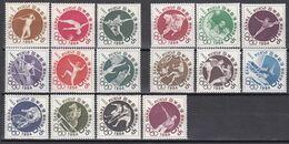 Japan - Lot Olympische Spiele Tokyo -  Postfrisch MNH + FDC - Unused Stamps