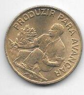 *cape Verde 2,5 Escudos 1977 Km 18  Unc/ms63 - Kaapverdische Eilanden