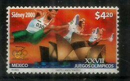 Mexique. Jeux Olympiques De Sydney . 1 T-p Année 2000 ** Yv.1930 - Mexique