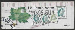 2011 - Lettre Verte - Oblitéré - 2010-... Illustrated Franking Labels