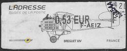 2011 - Musée De LaPoste - Brequet  - Oblitéré - 2010-... Illustrated Franking Labels