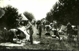 031 084 - CPSM - Militaria - Armée Belge - Après Une Nuit Sous La Tente - Manovre