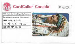 Canada Card Caller. Limited Edition 5.000 Ex, $10 Prepaid Phone Card, Expired, # Caller-1 - Canada