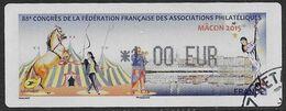 2015 - 88e Congres FFAP Mâcon - Oblitéré - 2010-... Illustrated Franking Labels