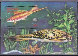 Grenada Grenadinen 1998 - Mi.Nr. 2771 Block 418 - Postfrisch MNH - Tiere Animals Fische Fishes - Peces