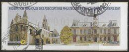 2007 - 80e Congres FFAP - Poitiers - Oblitéré - 1999-2009 Abgebildete Automatenmarke