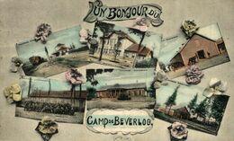 UN BONJOUR DU CAMP DE BEVERLOO KAMP LEOPOLDSBURG BOURG LEOPOLD WWICOLLECTION - Leopoldsburg (Beverloo Camp)