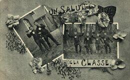 UN SALUT DE LA CLASSE. CAMP DE BEVERLOO KAMP LEOPOLDSBURG BOURG LEOPOLD WWICOLLECTION - Leopoldsburg (Beverloo Camp)
