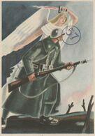 Cartolina / Postcard -  Viaggiata - Sent /  Cartolina In Franchigia Per Le Forze Armate - Patriotiques
