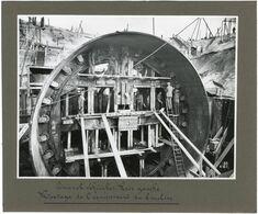 Anvers, Travaux Du Tunnel Sous L'Escaut, Finitions, éclairage, Inauguration, 25 Tirages Originaux D'époque. FG1748 - Places