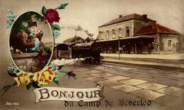 BONJOUR DU CAMP DE BEVERLOO KAMP LEOPOLDSBURG BOURG LEOPOLD WWICOLLECTION - Leopoldsburg (Beverloo Camp)