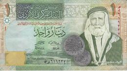 BILLETE DE JORDANIA DE 1 DINAR DEL AÑO 2006  (BANKNOTE) - Jordania