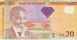 BILLETE DE NAMIBIA DE 20 DOLLARS DEL AÑO 2013 (BANKNOTE) GACELA-DEER - Namibia