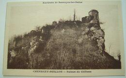 CPA Circa 1920 Le Château CHENECEY-BUILLON / Château De Charencey - La Loue, Lison Besançon TBE - Otros Municipios