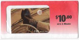 GTI $10 Prepaid Phone Card, SAMPLE # Gti-33 - United States