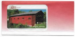 GTI $10 Prepaid Phone Card, SAMPLE # Gti-35 - United States