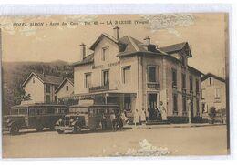 CPA 88 LA BRESSE HOTEL SIMON ARRET DES CARS - Otros Municipios