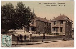 Villeneuve-Saint-Georges - L'école Maternelle - édit. B.B.M. 26 + Verso - Villeneuve Saint Georges