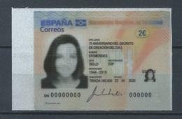 ESPAÑA 2020 **EFEMÉRIDES. 75 Aniversario Del  Decreto Del DNI - 2011-... Ungebraucht