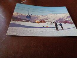 B775  Aosta Campi Di Sci Viaggiata - Aosta