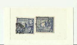 ZYPERN 1937 1938 - Cyprus (...-1960)