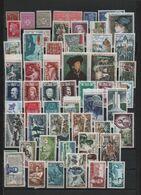 FRANCE-Collection De 152 Timbres Poste NEUFS Sans Charnière N° 506 à 1736 - Cote Yvert 109.65 - Collections
