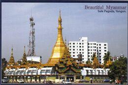 1 AK Myanmar * Sule-Pagode In Yangon Ehemalige Hauptstadt Von Myanmar - Die Pagode Soll über 2600 Jahre Alt Sein * - Myanmar (Birma)
