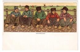 Oud-Holland - édit. A. Abrahams - N.M. Bolle 4 + Verso - Otros Ilustradores